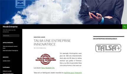 Diseño web Aitana Multimedia - Blogs - Monde Entreprise